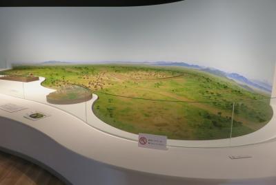 2021早春、あいち朝日遺跡(2/6):2月6日(2):朝日遺跡ミュージアム、銅鐸、赤彩土器、窓付土器、石器