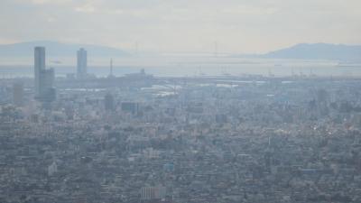 生駒山系58km完全縦走 2.室池園地~鳴川峠26km