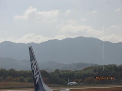 四国霊場最後の巡礼(73)高松空港を離陸。