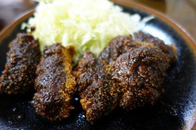 20210218 京都 京都駅近く、崇仁の揚げ物屋さん、さたけの天ぷら?定食