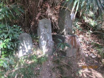 我孫子市の布佐・浅間神社・相馬霊場(89)・石仏
