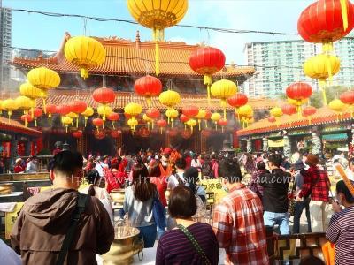 新年快樂!恭喜發財!2021年旧正月元旦(年初一)香港にて その1 ~翠園・黄大仙~