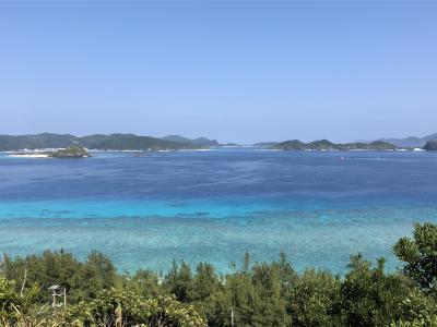 阿嘉島・慶留間島、弾丸一人旅
