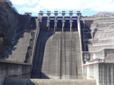 月例登山報告/大野山・その1.三保ダム&丹沢湖ウォーキング。