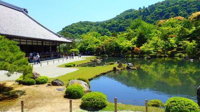 京都旅行2日目@桂離宮・嵐山