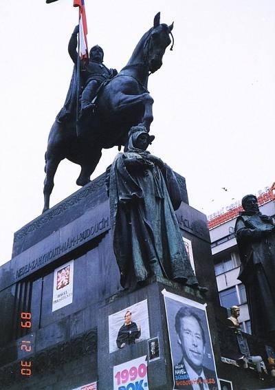 1989年 冬③ ビロード革命翌月のプラハ
