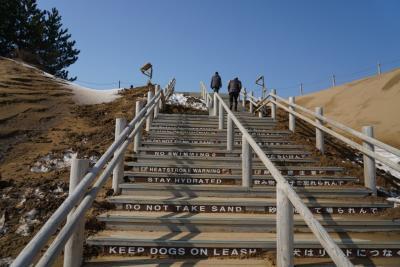 鳥取の砂丘から経ヶ岬の灯台へ