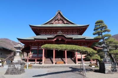 甲斐善光寺・武田神社を巡って武田信玄公墓所(信玄火葬塚)を訪ねました