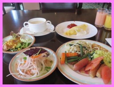 沖縄2014冬(7)アリビラ・ベルデマールの優雅な朝食