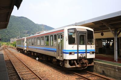 2017年7月 青春18きっぷで行く三江線とトロッコ列車おろち号の旅 (2) 最後の三江線・ 山陰本線米子到着編
