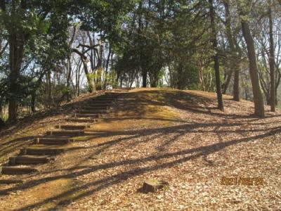 流山市の東深井地区公園・流山100か所めぐり(13)・古墳群
