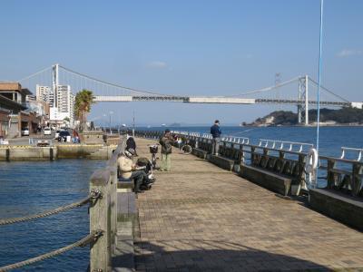 関門海峡電動自転車散歩(2月22日暖冬の午後)