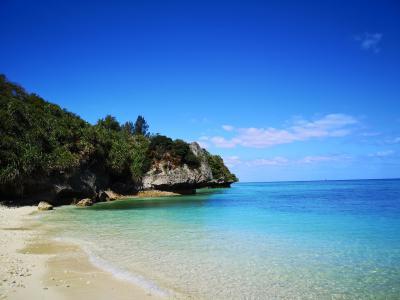 天気に恵まれた初夏のような沖縄!