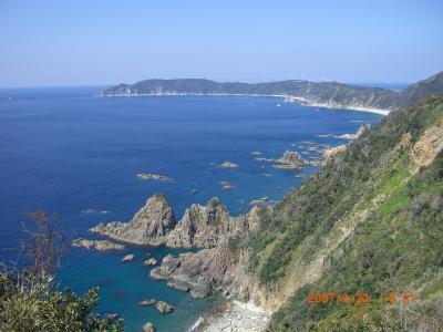 早春の鹿児島 桜島、薩摩半島