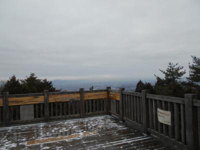 茨木市最高峰竜王山