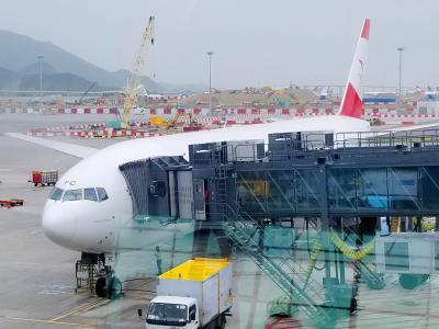 2018夏ウィーン美術紀行(2)オーストリア航空ビジネスクラスでウィーン初上陸