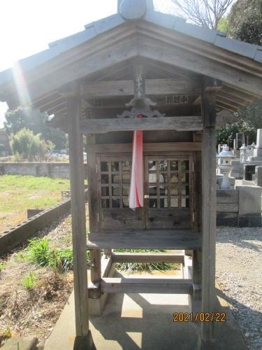 流山市の芝崎・円徳寺・江戸川88ヶ所(16)・石仏