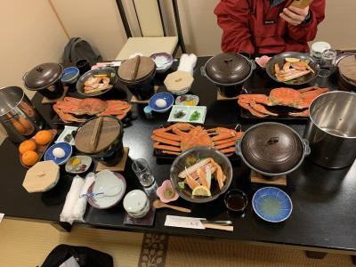 ★2020年12月★恒例の大蟹ツアー★GOTOで★