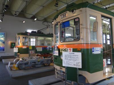 市電保存館で懐かしき「仙台市電」に思いを馳せる。
