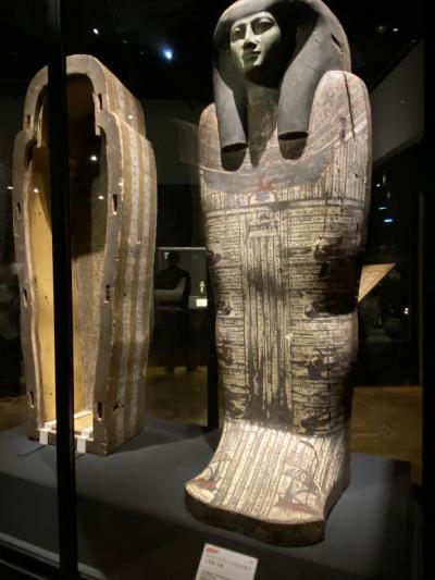 両国界隈散策後編、吉良邸跡、芥川龍之介歌碑、勝海舟生誕地を見て江戸東京博物館古代エジプト展観覧