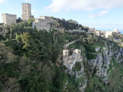 5歳娘を連れて年末年始マルタ+シチリア10日間12-静かな天空都市エリチェ