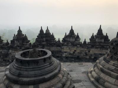 2019年12月 《世界遺産ボロブドゥール遺跡に行く》インドネシア・ジョグジャカルタ