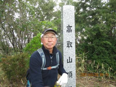 足掛け5年、六甲全山ツギハギ分割縦走、高取山の巻。ついでに雌岡山。