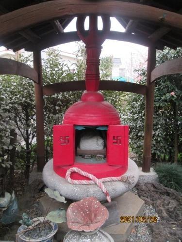 流山市の西平井・江戸川88ヶ所めぐり(62)・焼原大師堂