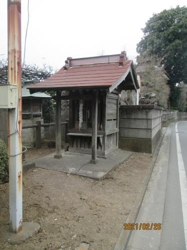 流山市の野々下・江戸川88ヶ所めぐり(48)・大師堂