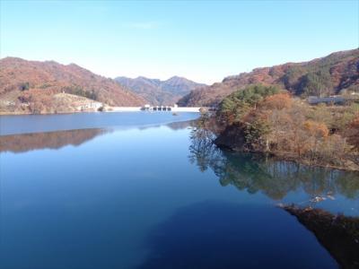 紅葉探し【群馬・八ッ場ダム(Yanba dam)編󠄃】
