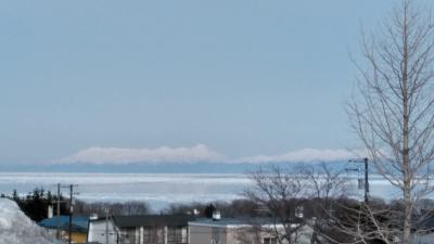 2月に入り少しづつ後退した流氷・今はどの辺にいますか~