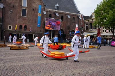 ゴールデンウィークに、オランダのチューリップと美術館巡り8日間⑦。アルクマールのチーズ市4日目前半