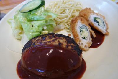 20210301-1 京都 手作りハンバーグの店とくら、肉汁たっぷりハンバーグ