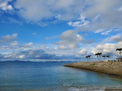 沖縄本島 初冬のリゾートを満喫・前