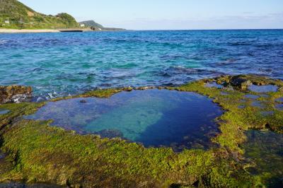天気に恵まれた奄美大島、のんびり自転車で