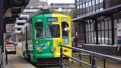 ゴンママの乗り鉄の旅 西九州編 その5 熊本の市電に乗り、熊本市内の観光。