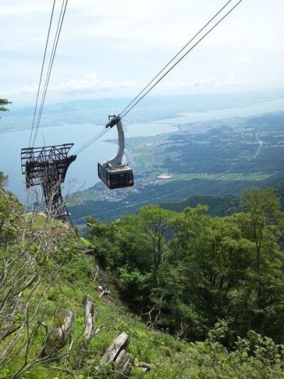 2011年8月 琵琶湖バレイ(打見山&蓬莱山)へ行ってきました!