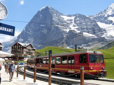 アルプス5大名峰と絶景列車の旅 28 山の神様の恵は素晴らしかった クライネ・シャイデック