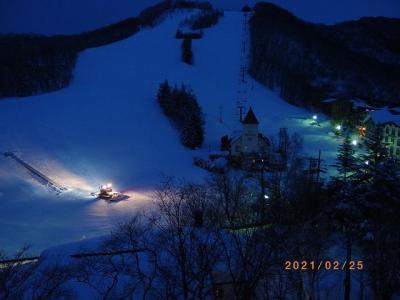 サンバレー・グリーンに泊まって志賀高原でスキー