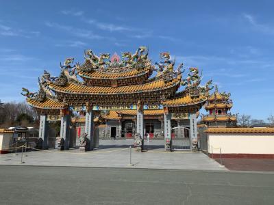 埼玉県にある台湾様式のお宮を訪問、そしていちご狩り