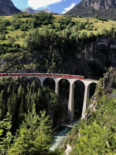 スイス 絶景に心奪われ、列車に心躍る15日の旅 ① 2019.6.22~7.6
