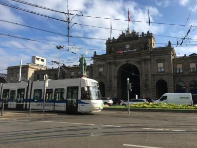 スイス 絶景に心奪われ、列車に心躍る15日の旅 ②【チューリヒ市内】【アッペンツェル市内】