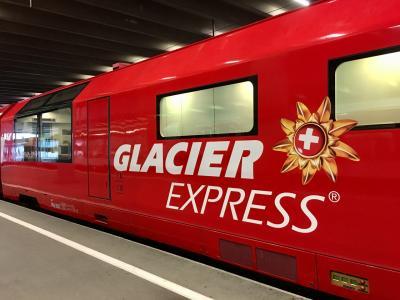 スイス 絶景に心奪われ、列車に心躍る15日の旅 ⑫【氷河急行】【ラントヴァッサー高架橋】