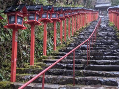 京都観光(鞍馬寺&貴船神社)とBAQETでパン食べ放題ランチ