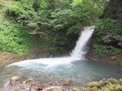 黒滝と樋滝(とゆたき)