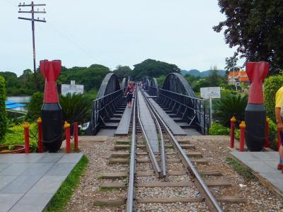 タイの旅(3)旧泰緬鉄道とクウェー川鉄橋