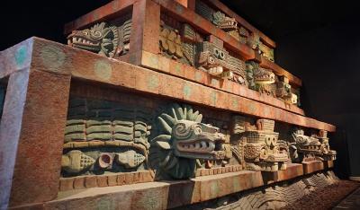 メキシコシティ 見どころテンコ盛りの国立人類博物館へ