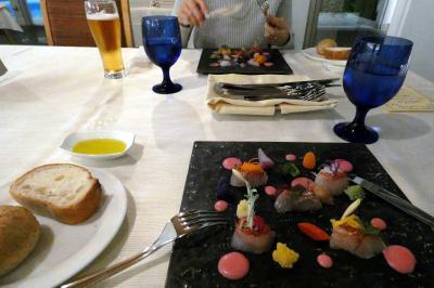 年末年始のエクシブ8連泊 エクシブ伊豆 南欧料理 ラペールの夕食