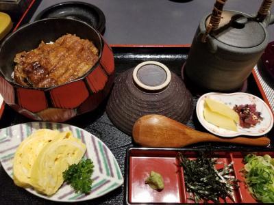 ★2021.03大阪グルメ★(ひつまぶし・肉丼・ストロベリーアフタヌーンティ)