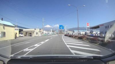 富士山の日に… 2021.02.23 ③水ヶ塚公園~自宅